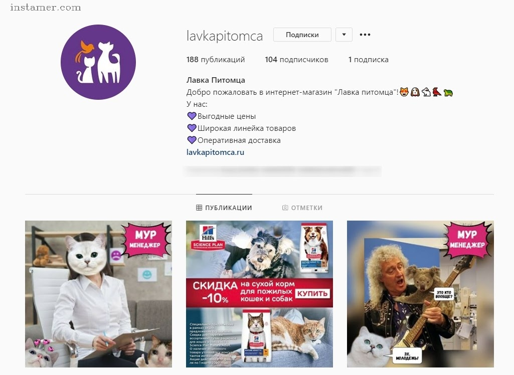 instamer - promote instagram followers / накрутка подписчиков инстаграм
